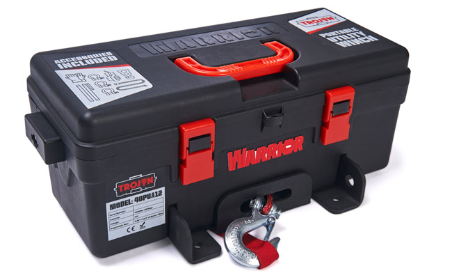 Trojan Portable Utility Winch - Synthetic