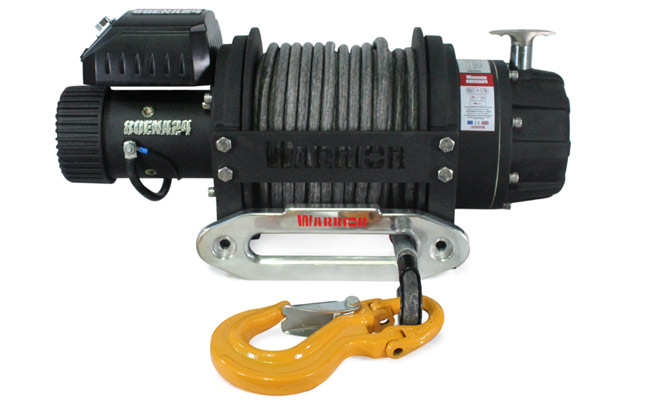 EN 8000 Electric Winch - Armortek Rope